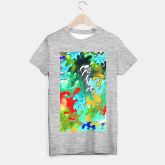 Thumbnail image of Blobs Collage T-shirt regular, Live Heroes
