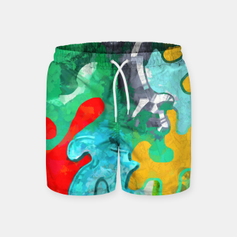 Thumbnail image of Blobs Collage Swim Shorts, Live Heroes