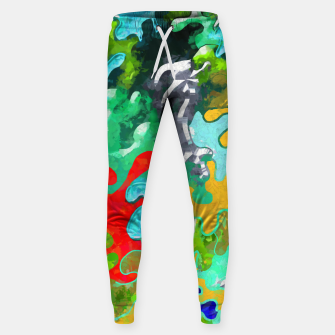 Thumbnail image of Blobs Collage Sweatpants, Live Heroes