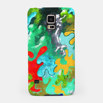 Thumbnail image of Blobs Collage Samsung Case, Live Heroes