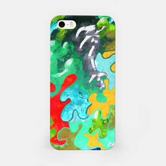 Thumbnail image of Blobs Collage iPhone Case, Live Heroes