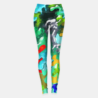 Thumbnail image of Blobs Collage Leggings, Live Heroes