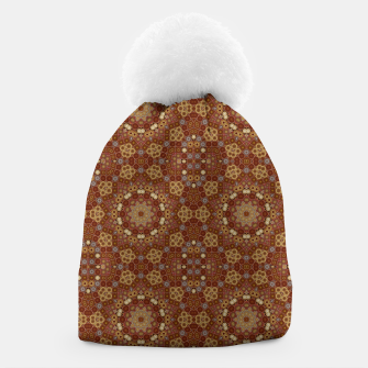 Miniature de image de Checkered Star Geometry  Beanie, Live Heroes