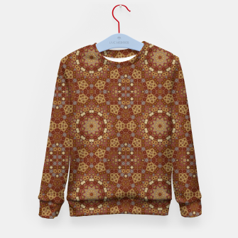 Miniature de image de Checkered Star Geometry  Kid's sweater, Live Heroes