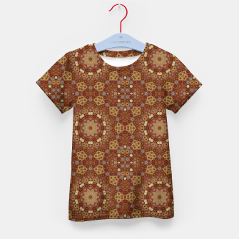 Miniature de image de Checkered Star Geometry  Kid's t-shirt, Live Heroes
