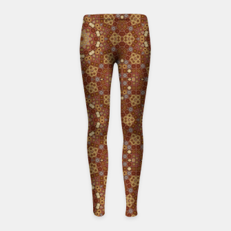 Miniature de image de Checkered Star Geometry  Girl's leggings, Live Heroes