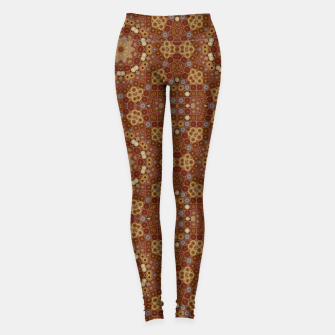 Miniature de image de Checkered Star Geometry  Leggings, Live Heroes