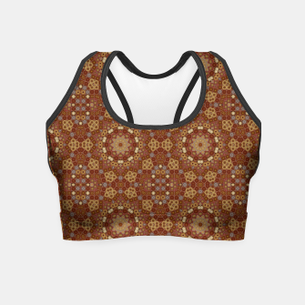 Thumbnail image of Checkered Star Geometry  Crop Top, Live Heroes