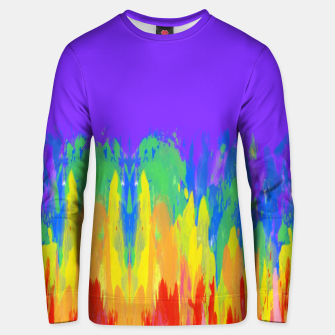Thumbnail image of Flames Paint Abstract Purple Unisex sweater, Live Heroes
