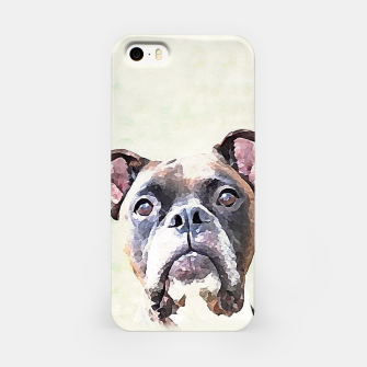 Thumbnail image of Boxer dog iPhone case, Live Heroes