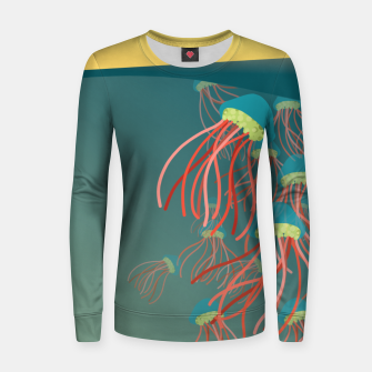 Thumbnail image of Jellyfish Women sweater, Live Heroes