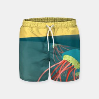Thumbnail image of Jellyfish Swim Shorts, Live Heroes