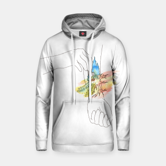 Thumbnail image of band aid Hoodie, Live Heroes