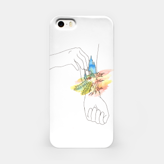 Thumbnail image of band aid iPhone Case, Live Heroes