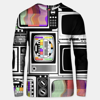 Thumbnail image of Cathode ray tube - Unisex sweater, Live Heroes