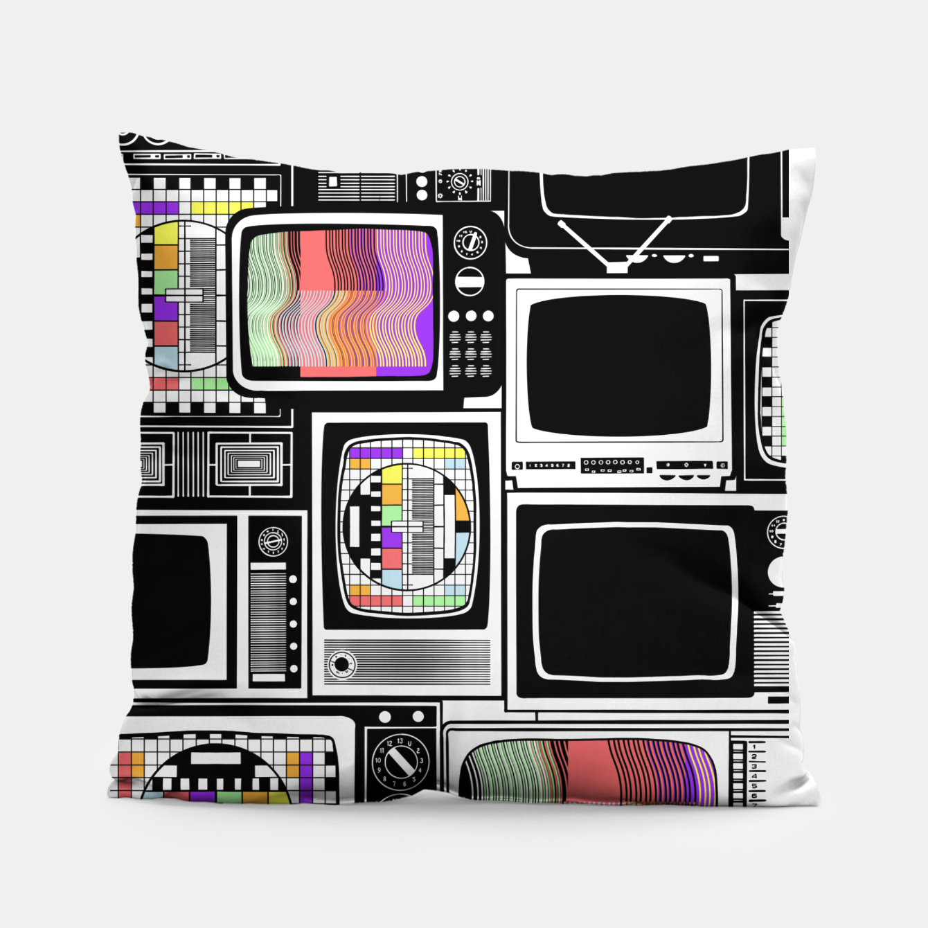 Image of Cathode ray tube - Pillow - Live Heroes