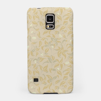 Thumbnail image of The wall of orange buds and blossoms in antique Samsung Case, Live Heroes