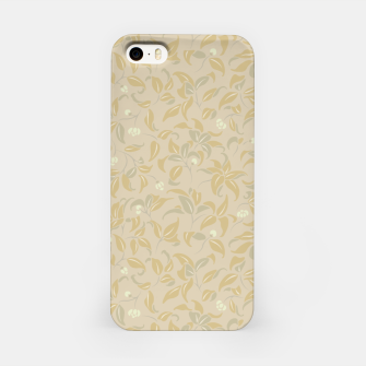 Thumbnail image of The wall of orange buds and blossoms in antique iPhone Case, Live Heroes