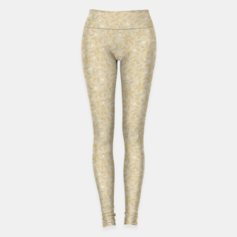 Thumbnail image of The wall of orange buds and blossoms in antique Leggings, Live Heroes