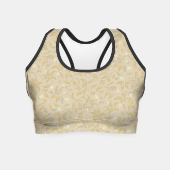 Thumbnail image of The wall of orange buds and blossoms in antique Crop Top, Live Heroes