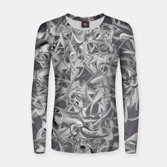 Thumbnail image of organic flow  Women sweater, Live Heroes