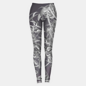 Thumbnail image of organic flow  Leggings, Live Heroes