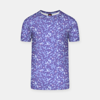 Thumbnail image of The wall of orange buds and blossoms in lavender T-shirt, Live Heroes