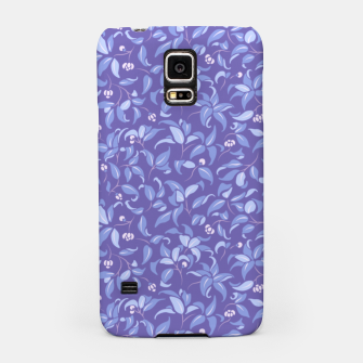 Miniatur The wall of orange buds and blossoms in lavender Samsung Case, Live Heroes