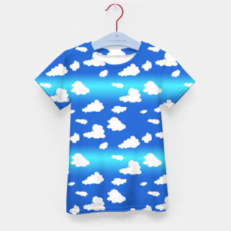 Thumbnail image of Clouds Kid's t-shirt, Live Heroes