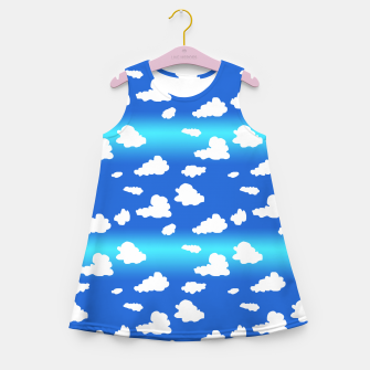 Thumbnail image of Clouds Girl's summer dress, Live Heroes