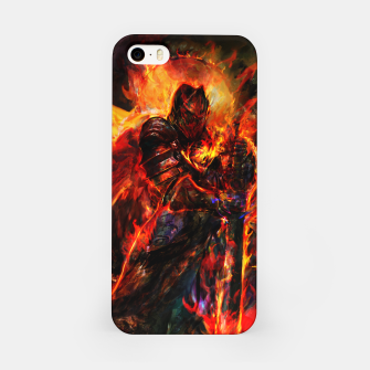Thumbnail image of dark souls iPhone Case, Live Heroes