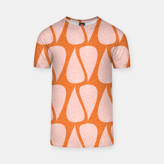 Thumbnail image of Zen Leaves Ocher T-shirt, Live Heroes