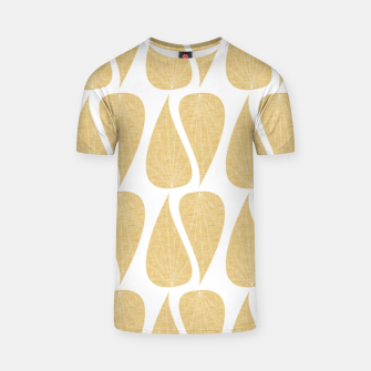 Thumbnail image of Zen Leaves Ivory T-shirt, Live Heroes