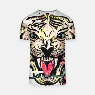 Thumbnail image of Geometric Tiger T-shirt, Live Heroes