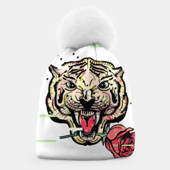 Thumbnail image of Geometric Tiger Beanie, Live Heroes