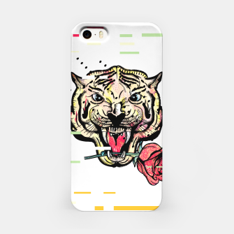 Miniatur Geometric Tiger iPhone Case, Live Heroes