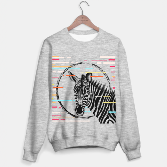 Miniatur Zebra Geometric Sweater regular, Live Heroes
