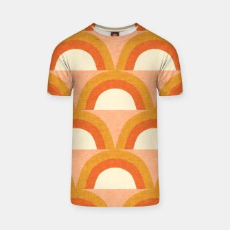 Thumbnail image of New Mid Mod Rainbow Magic Orange T-shirt, Live Heroes