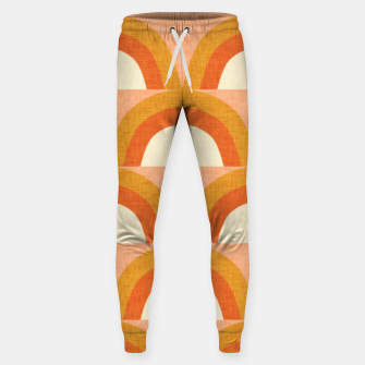 Thumbnail image of New Mid Mod Rainbow Magic Orange Sweatpants, Live Heroes