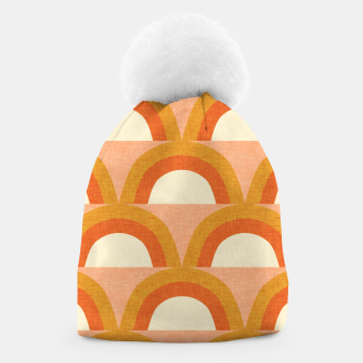 Thumbnail image of New Mid Mod Rainbow Magic Orange Beanie, Live Heroes