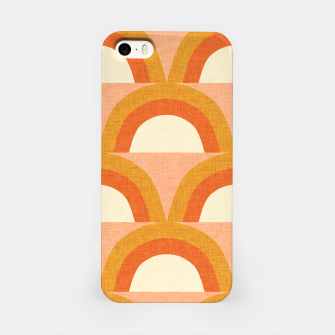 Thumbnail image of New Mid Mod Rainbow Magic Orange iPhone Case, Live Heroes