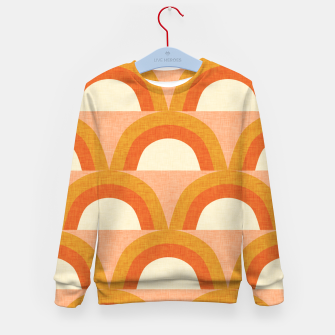 Thumbnail image of New Mid Mod Rainbow Magic Orange Kid's sweater, Live Heroes