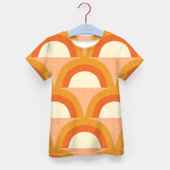 Thumbnail image of New Mid Mod Rainbow Magic Orange Kid's t-shirt, Live Heroes
