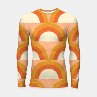 Thumbnail image of New Mid Mod Rainbow Magic Orange Longsleeve rashguard , Live Heroes