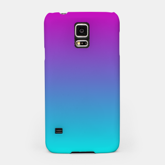 Thumbnail image of Purple Blue Turquoise Gradient Samsung Case, Live Heroes