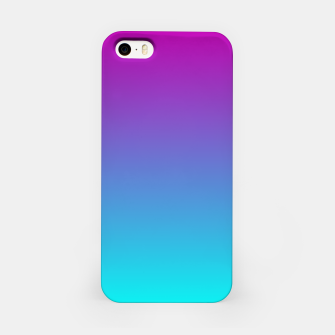 Thumbnail image of Purple Blue Turquoise Gradient iPhone Case, Live Heroes