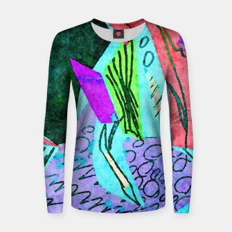 Thumbnail image of Coral Reefs Women sweater, Live Heroes