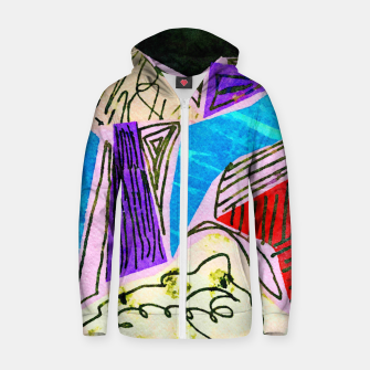 Thumbnail image of Noisy Clouds Zip up hoodie, Live Heroes