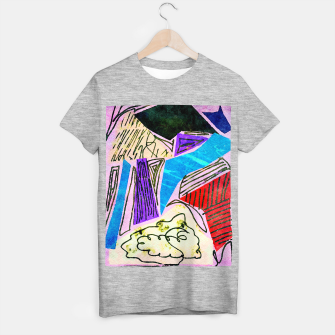 Thumbnail image of Noisy Clouds T-shirt regular, Live Heroes