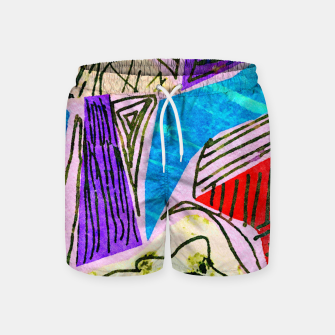 Thumbnail image of Noisy Clouds Swim Shorts, Live Heroes